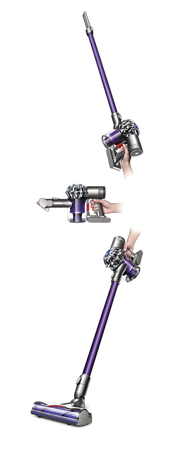dyson v6 animal cordless vacuum purple new 885609004808 ebay. Black Bedroom Furniture Sets. Home Design Ideas