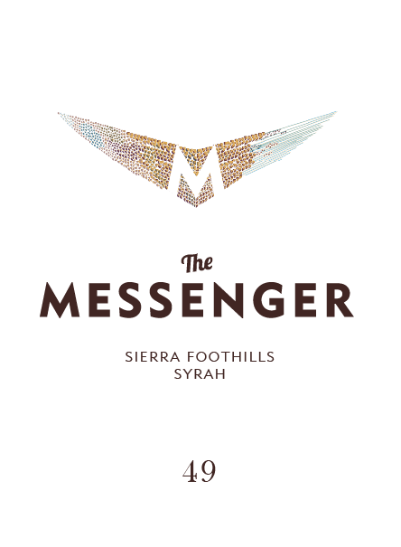 2018 Sierra Foothills Syrah The Messenger - Art+Farm Wine