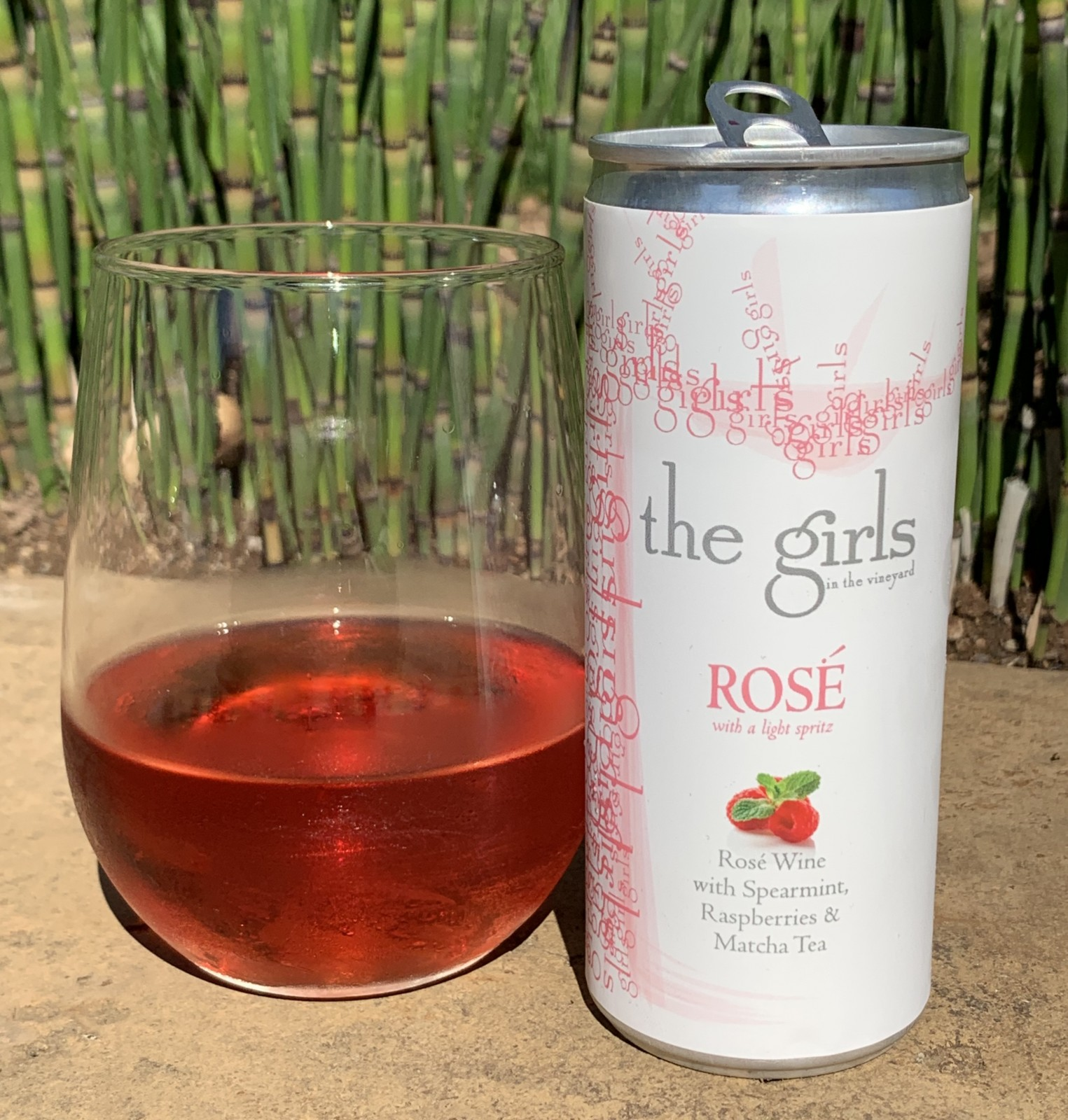 Making a Case - the girls ROSÉ 24 x 250ml the girls ROSÉ cans  - Art+Farm Wine