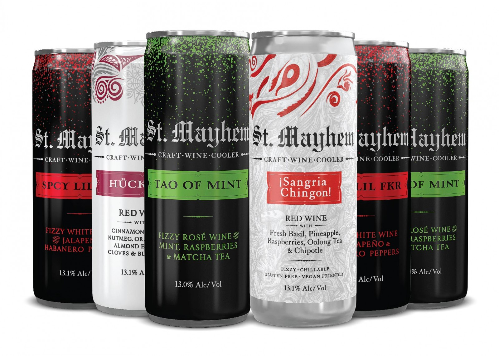 St. Mayhem Pick Six You choose any 6 St Mayhem cans (6 x 250ml) - Art+Farm Wine