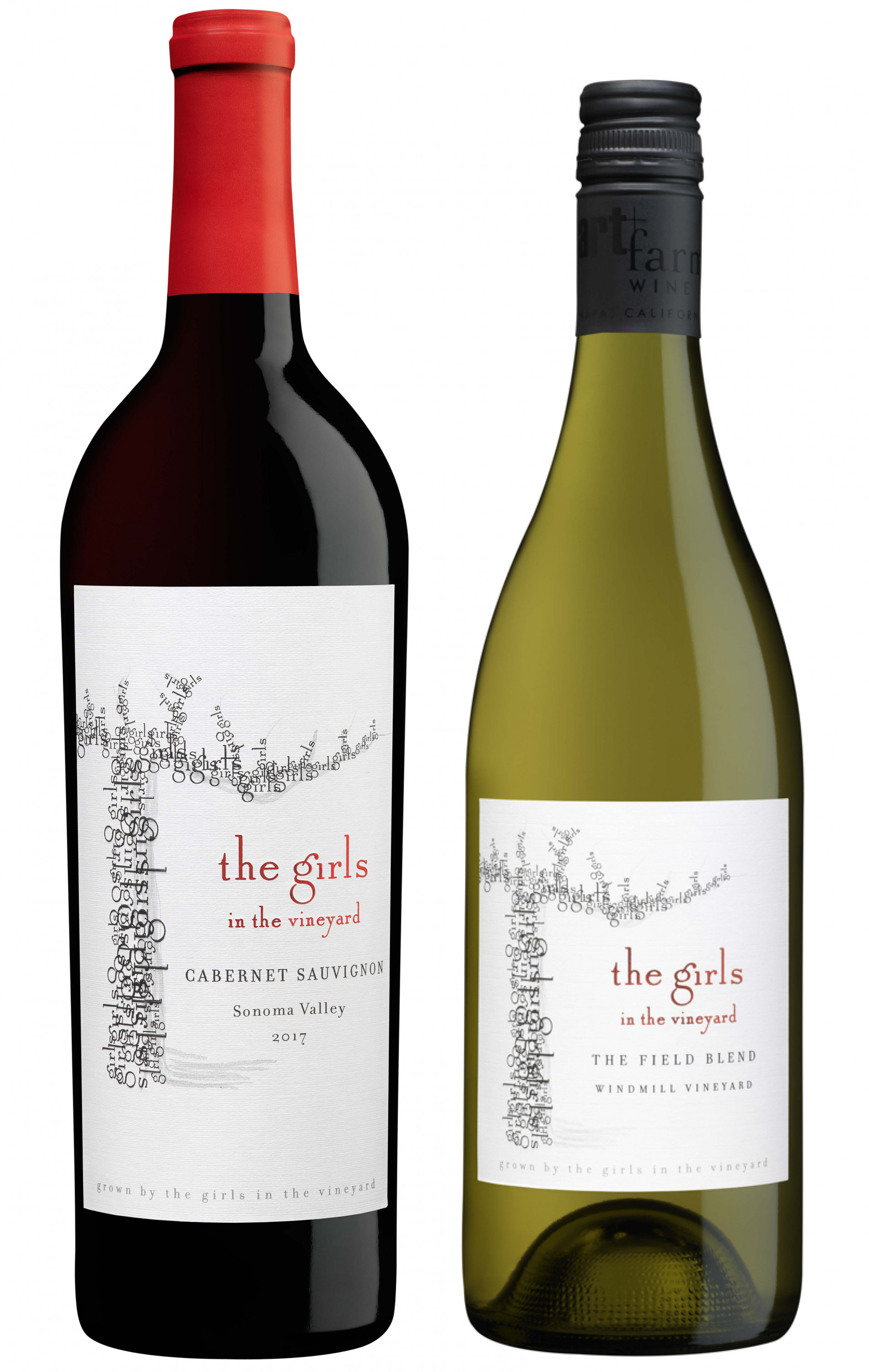 something old & something new - the girls Cabernet & the girls Field Blend Sample 6pack 6x750ml - West Coast Only - Art+Farm Wine
