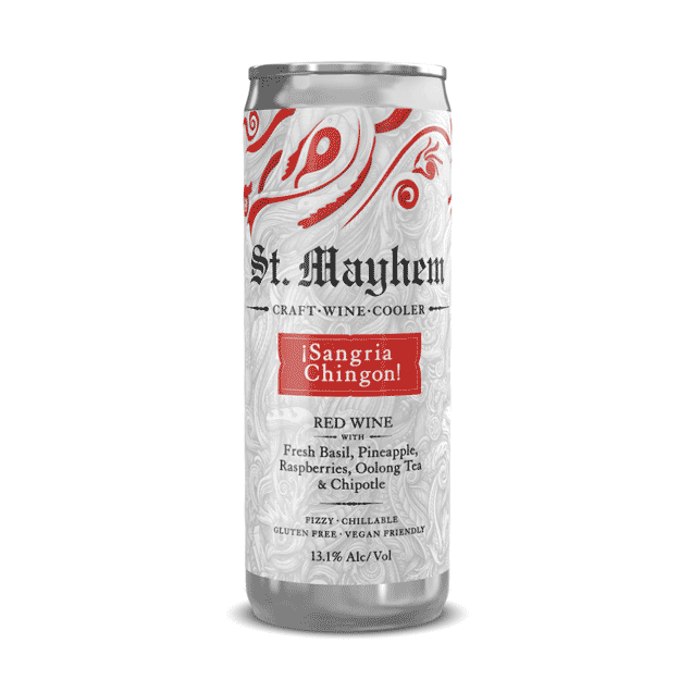 St. Mayhem Sangria Chingon 4 x 250ml Cans - Art+Farm Wine