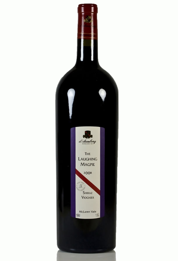 d`Arenberg Shiraz / Viognier The Laughing Magpie 2007, 1.5L (WA92, ST91) from The BPW - Merchants of rare and fine wines.