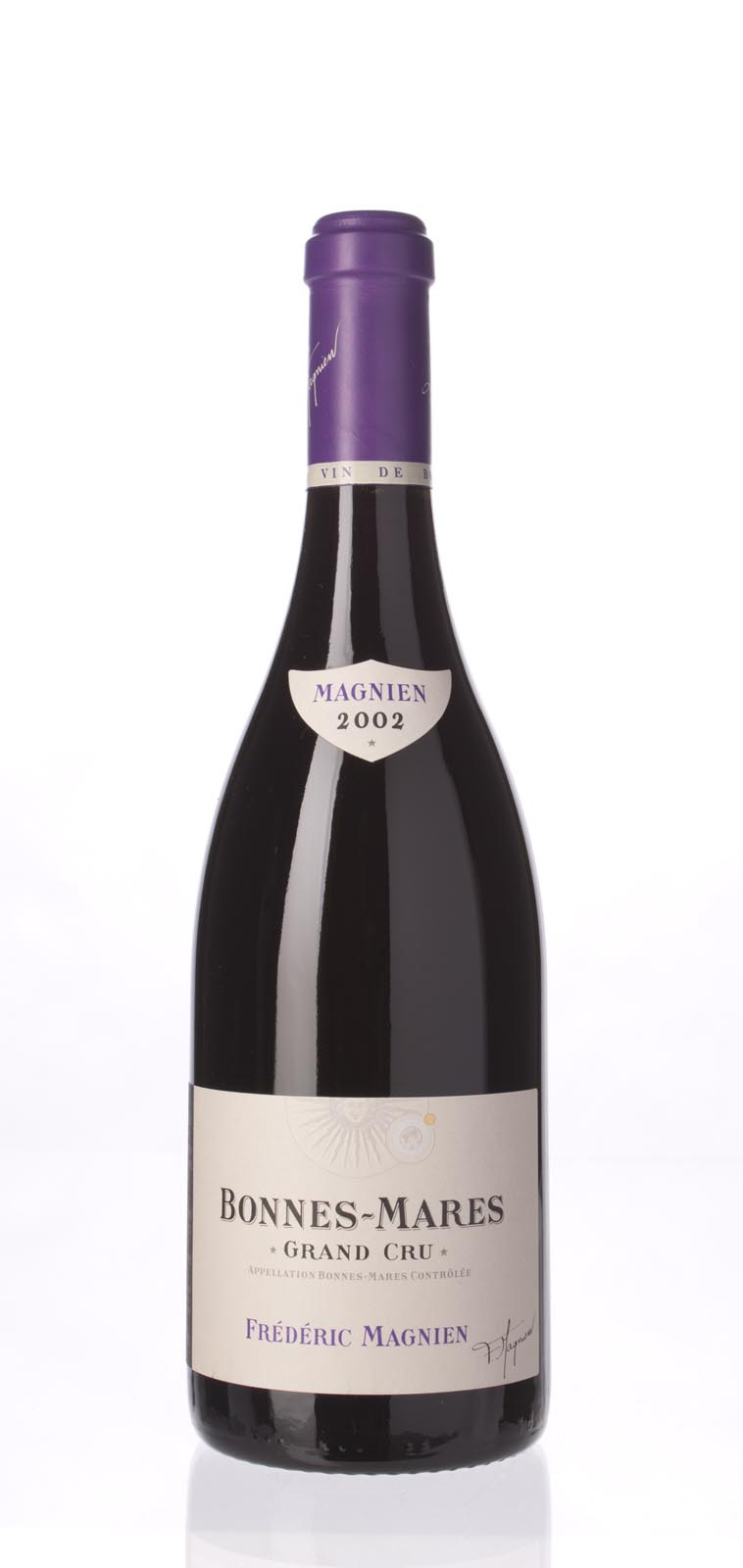 Domaine Frederic Magnien Bonnes Mares 2002, 750mL () from The BPW - Merchants of rare and fine wines.