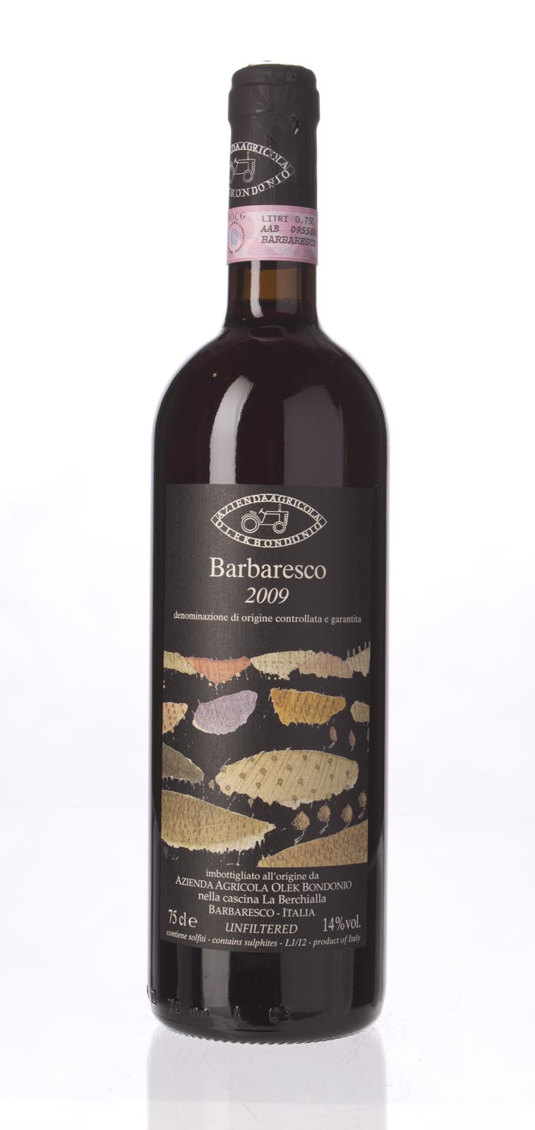 Olek Bondonio Barbaresco Berchialla 2009, 750mL () from The BPW - Merchants of rare and fine wines.