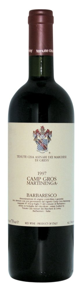 Marchese di Gresy Barbaresco Camp Gros Martinenga 2007, 750ml (ST95, AG94, JS93, WA94) from The BPW - Merchants of rare and fine wines.