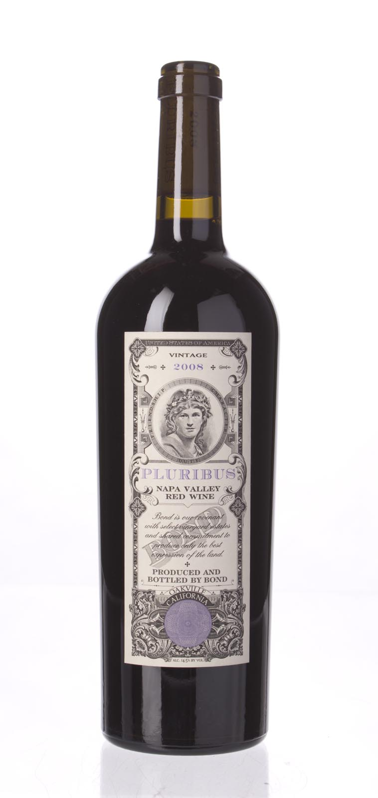 Bond Pluribus 2008,  (JS92, WA94-96, ST94+) from The BPW - Merchants of rare and fine wines.