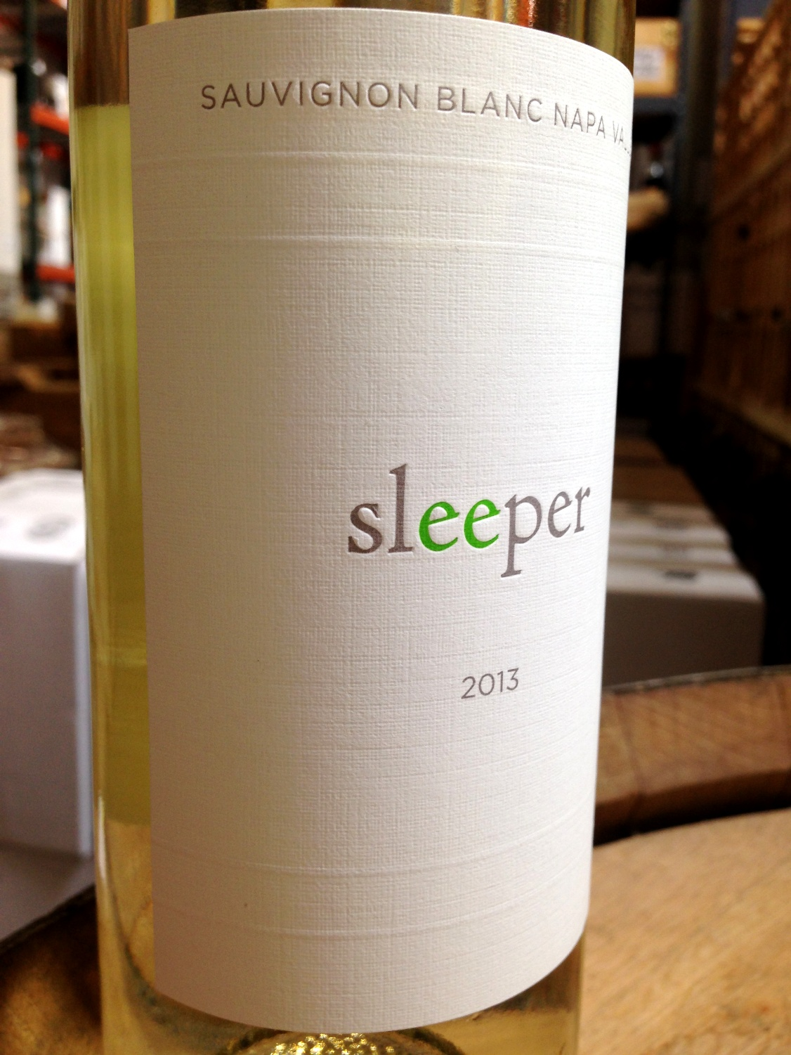 Sleeper Sauvignon Blanc Napa Valley 2013,  () from The BPW - Merchants of rare and fine wines.