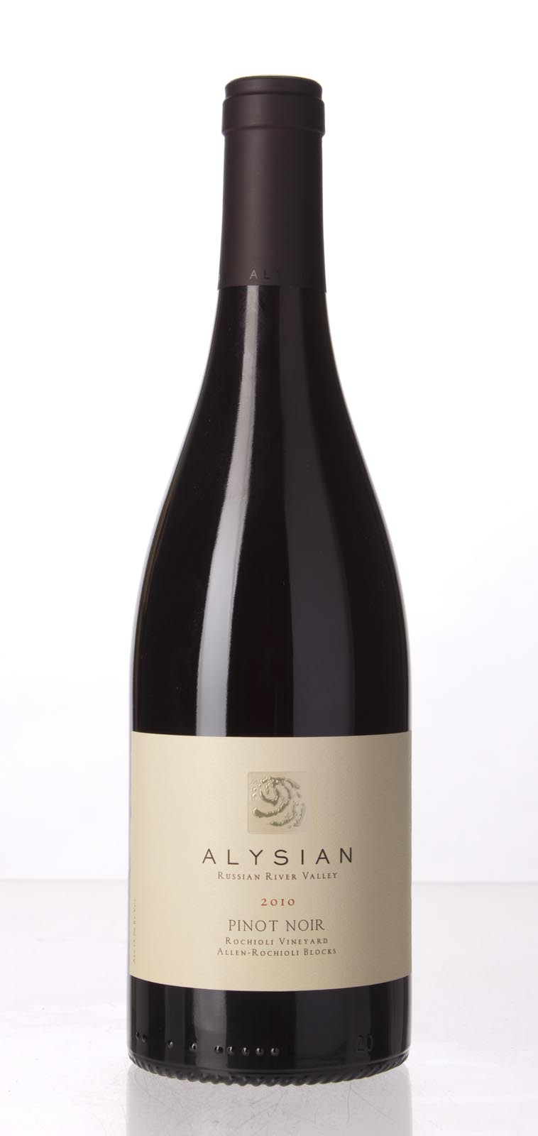 Alysian Wines Pinot Noir Rochioli Vineyard Allen Rochioli Blocks 2010,  () from The BPW - Merchants of rare and fine wines.