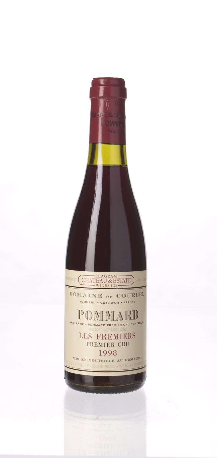 Domaine de Courcel Pommard les Fremiers 1998,  () from The BPW - Merchants of rare and fine wines.