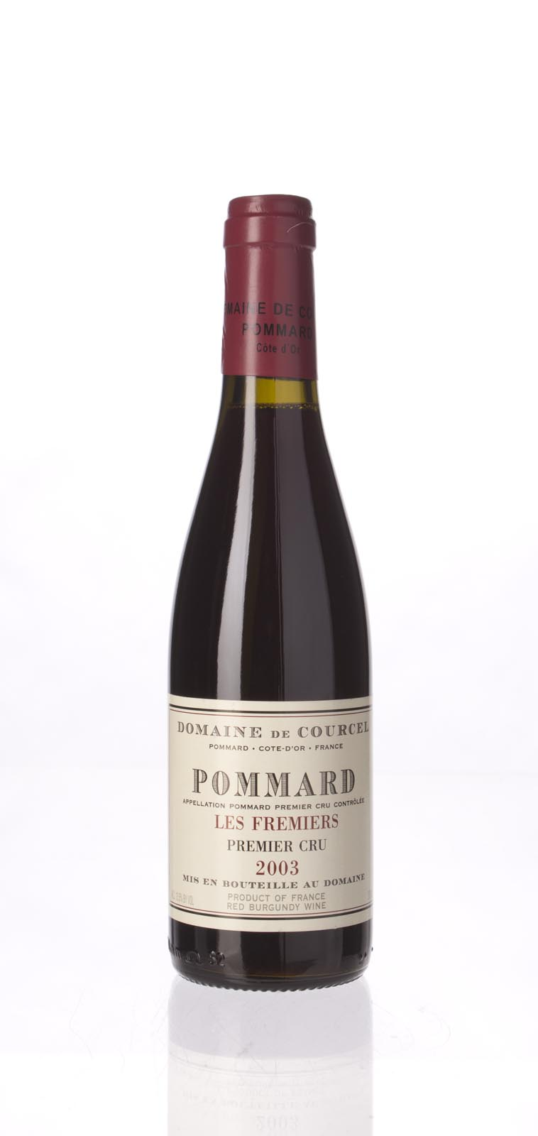 Domaine de Courcel Pommard les Fremiers 2003, 375ml (WS90) from The BPW - Merchants of rare and fine wines.