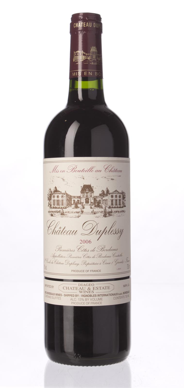 Duplessy 2006, 750mL () from The BPW - Merchants of rare and fine wines.