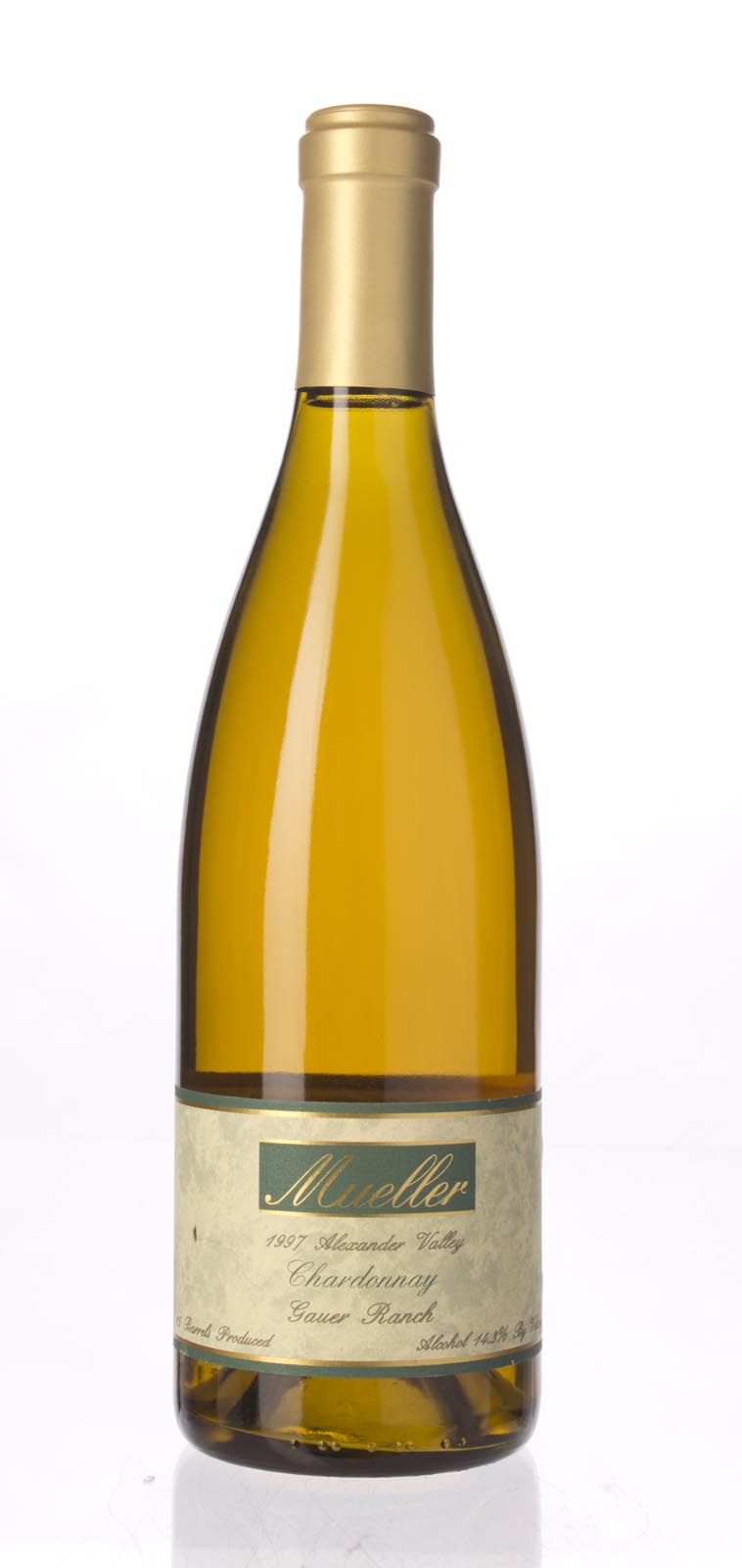 Robert Mueller Cellars Chardonnay Gauer Ranch 1997,  () from The BPW - Merchants of rare and fine wines.