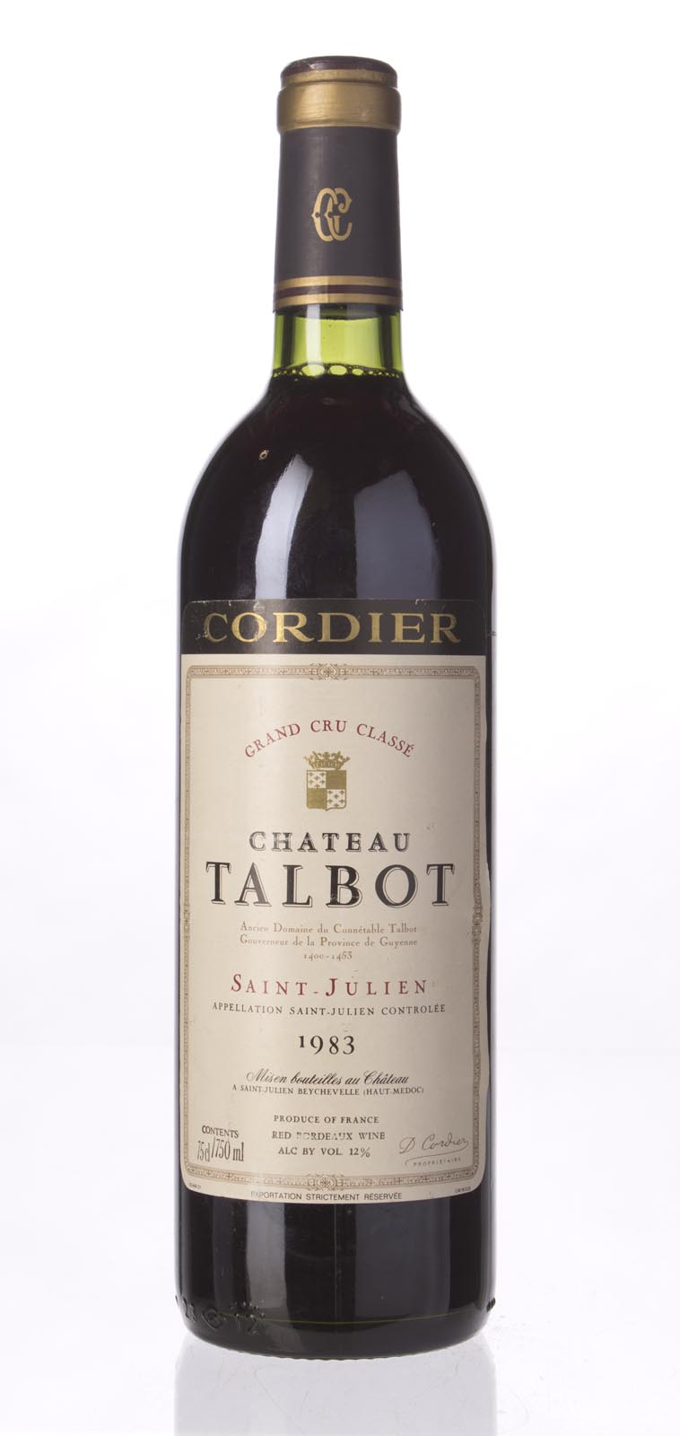 Talbot 1983, 750mL (WA91) from The BPW - Merchants of rare and fine wines.