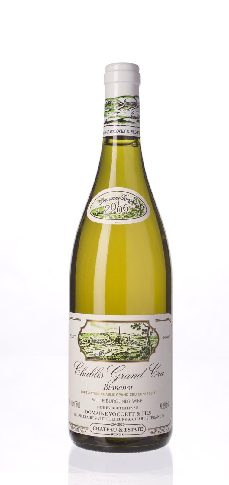Vocoret et Fils Chablis Blanchots 2006, 750mL (ST90) from The BPW - Merchants of rare and fine wines.