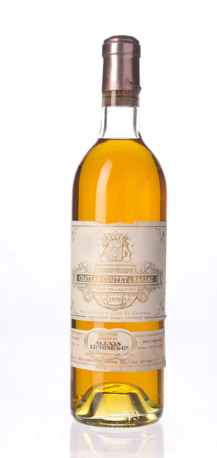 Coutet Sauternes 1970, 750mL () from The BPW - Merchants of rare and fine wines.