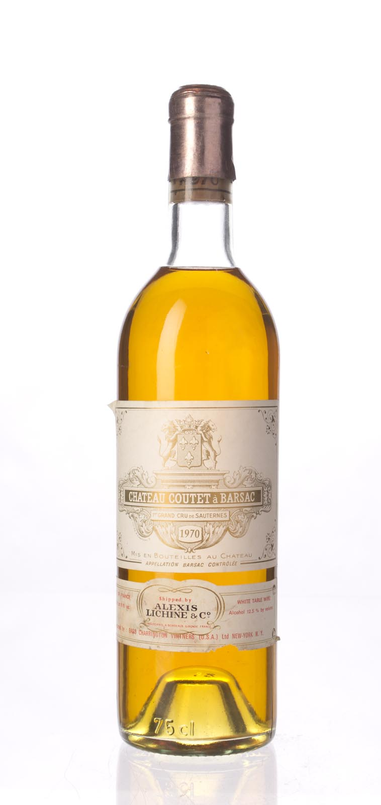 Coutet Sauternes 1970,  () from The BPW - Merchants of rare and fine wines.