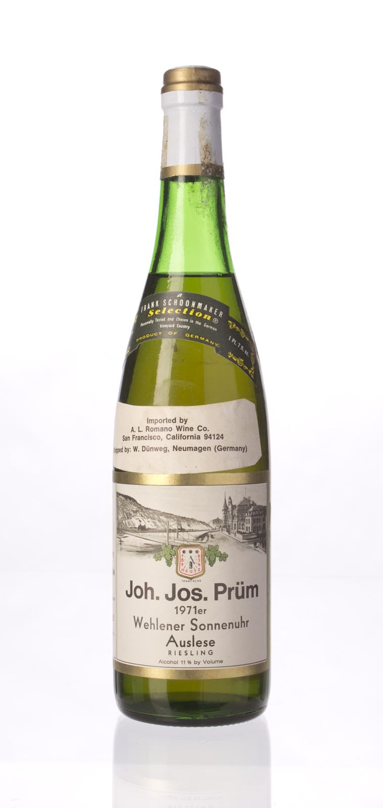 JJ Prum Wehlener Sonnenuhr Riesling Auslese 1971, 750mL () from The BPW - Merchants of rare and fine wines.