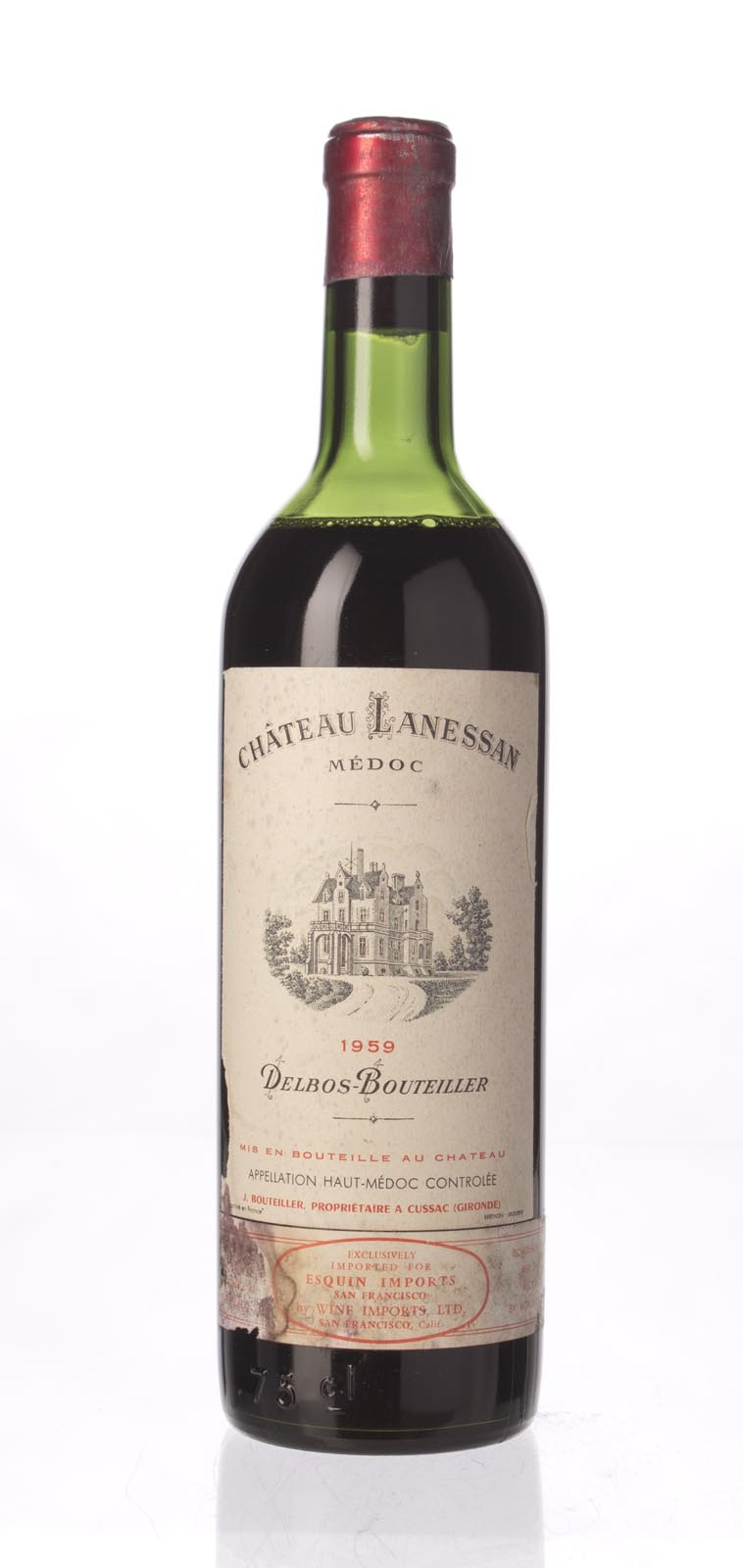 Lanessan 1959, 750mL () from The BPW - Merchants of rare and fine wines.