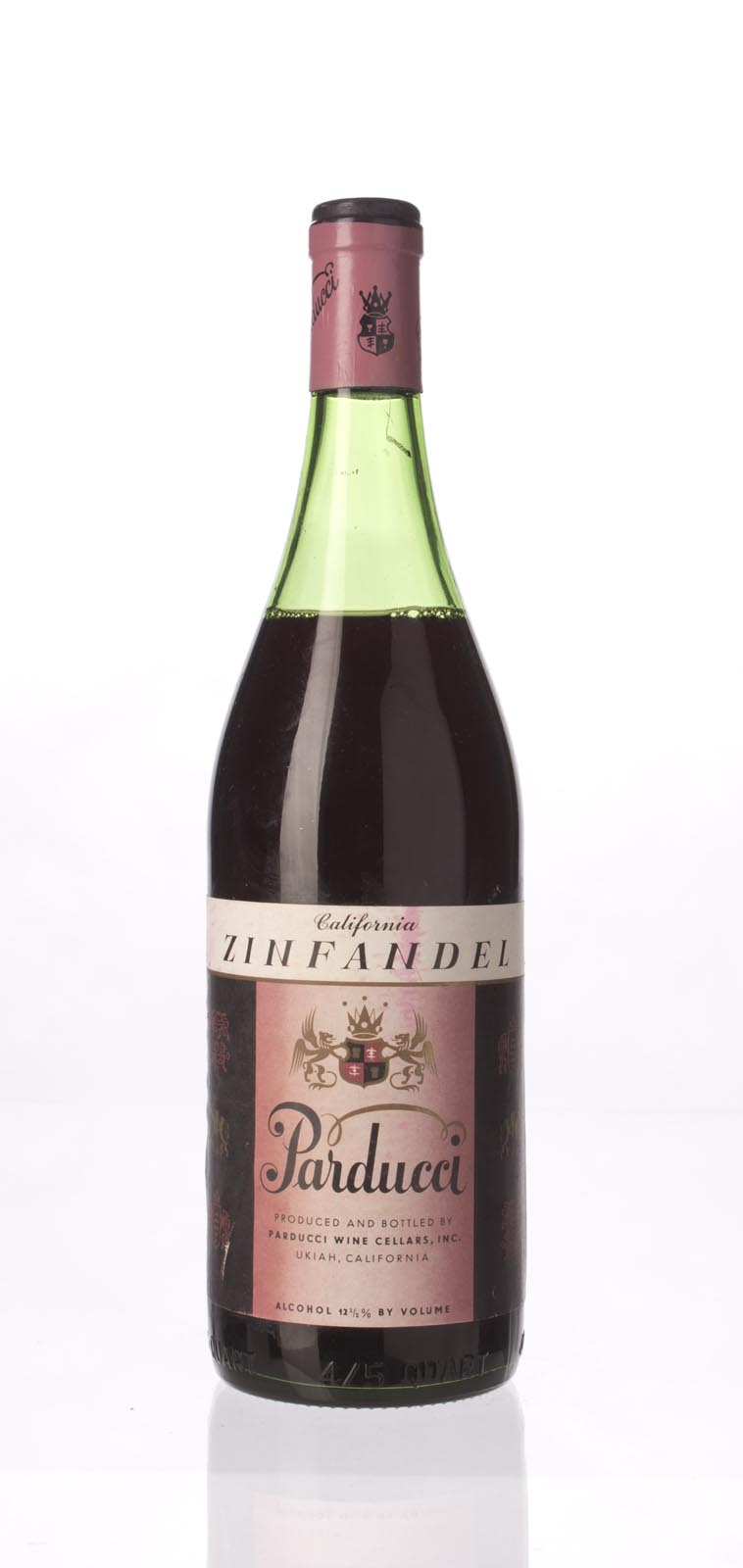 Parducci Zinfandel 1966, 750mL () from The BPW - Merchants of rare and fine wines.