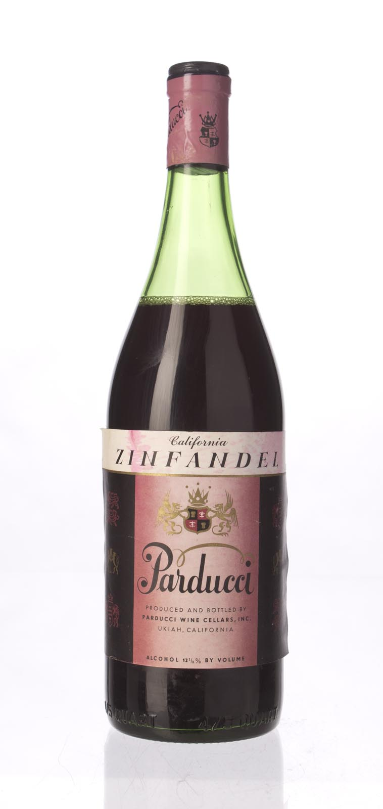 Parducci Zinfandel N.V., 750mL () from The BPW - Merchants of rare and fine wines.
