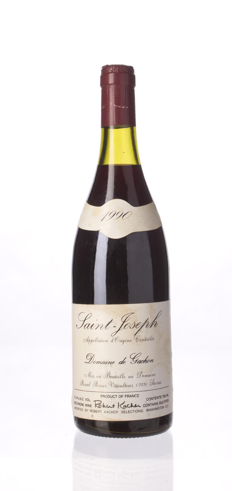 Domaine de Gachon (Pascal Perrier) St. Joseph 1990, 750mL (WA89) from The BPW - Merchants of rare and fine wines.