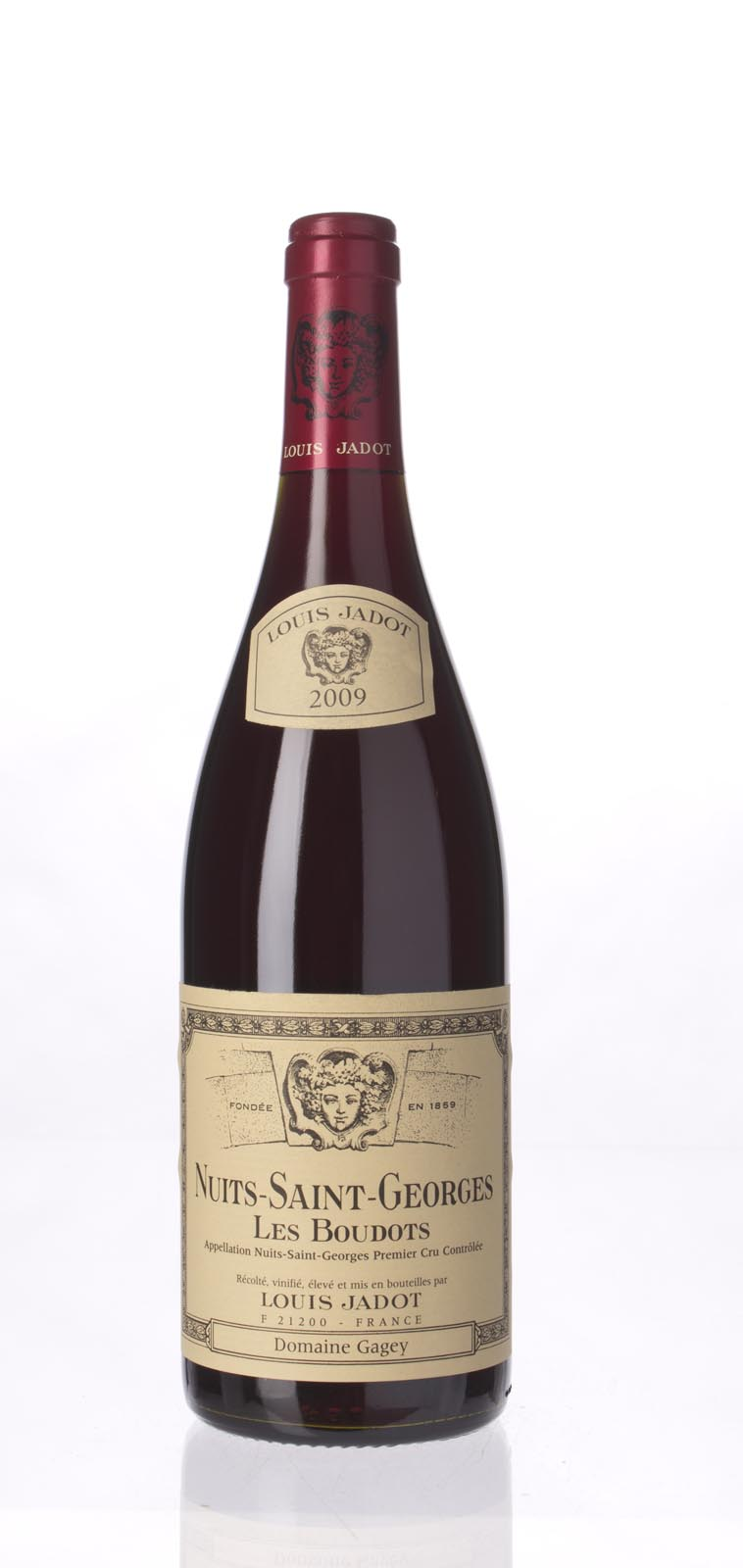 Louis Jadot Nuits St. Georges les Boudots 2009, 750mL (BH92) from The BPW - Merchants of rare and fine wines.