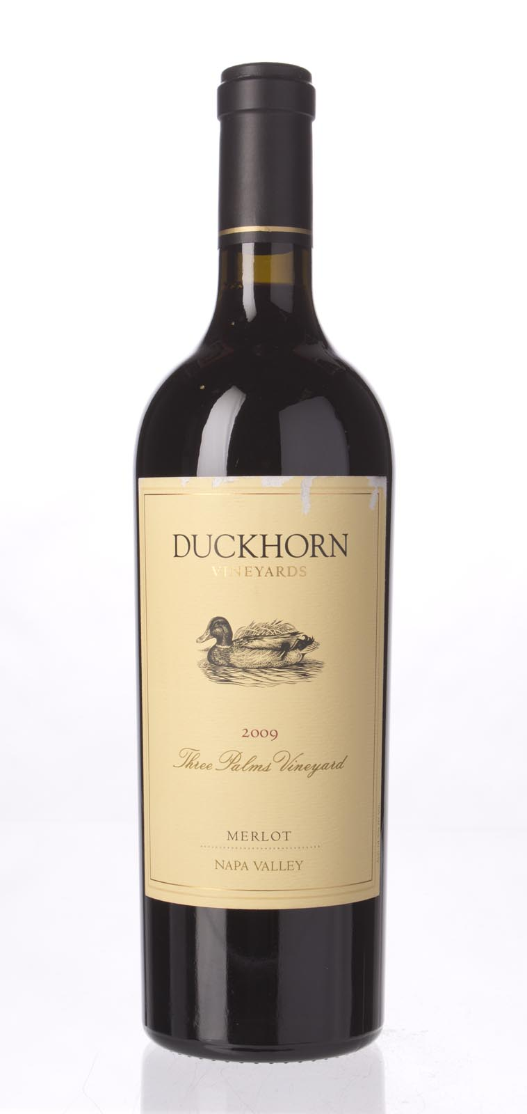 Duckhorn Merlot Three Palms Vineyard 2009, 750mL () from The BPW - Merchants of rare and fine wines.