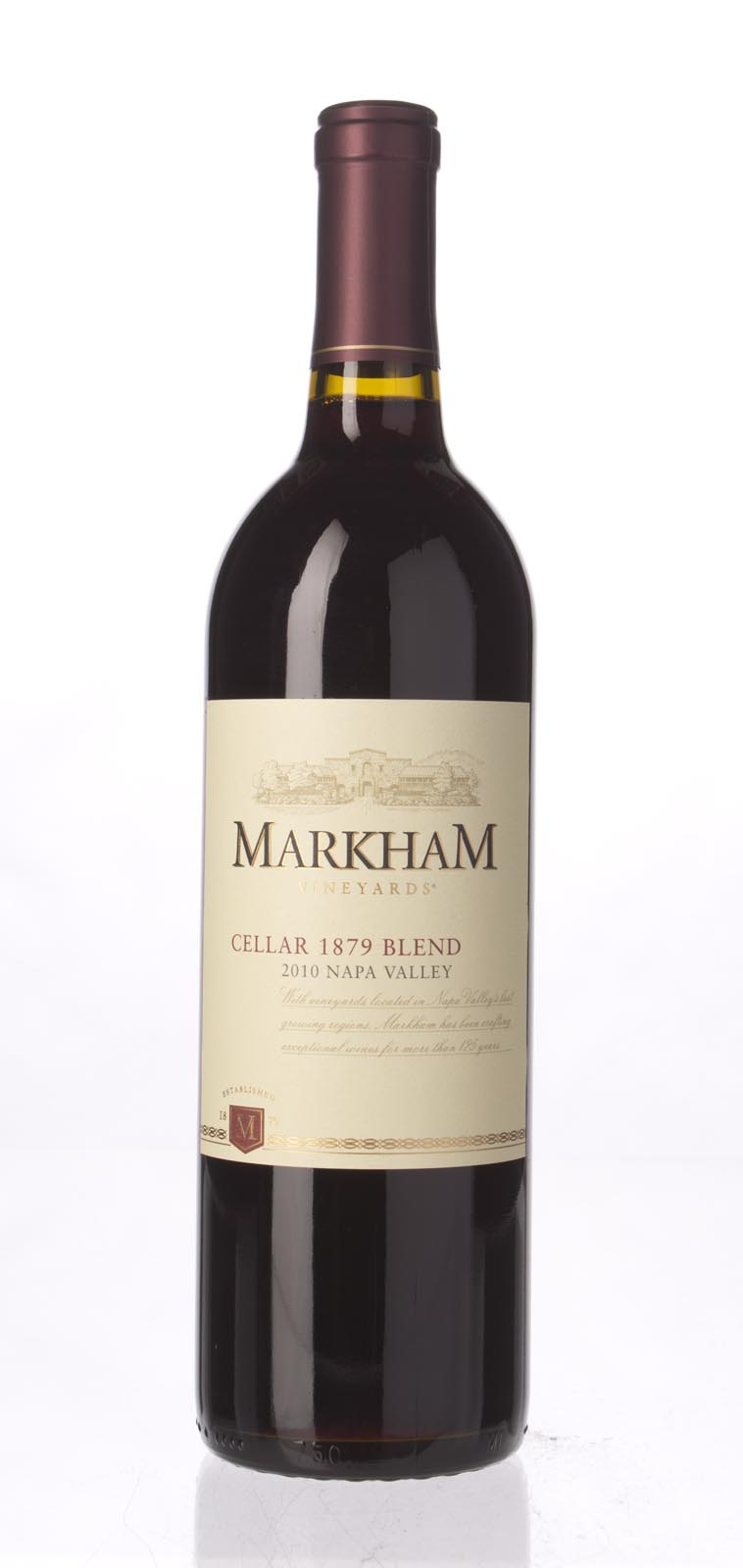 Markham Proprietary Red Blend Cellar 1879 2010, 750ml () from The BPW - Merchants of rare and fine wines.