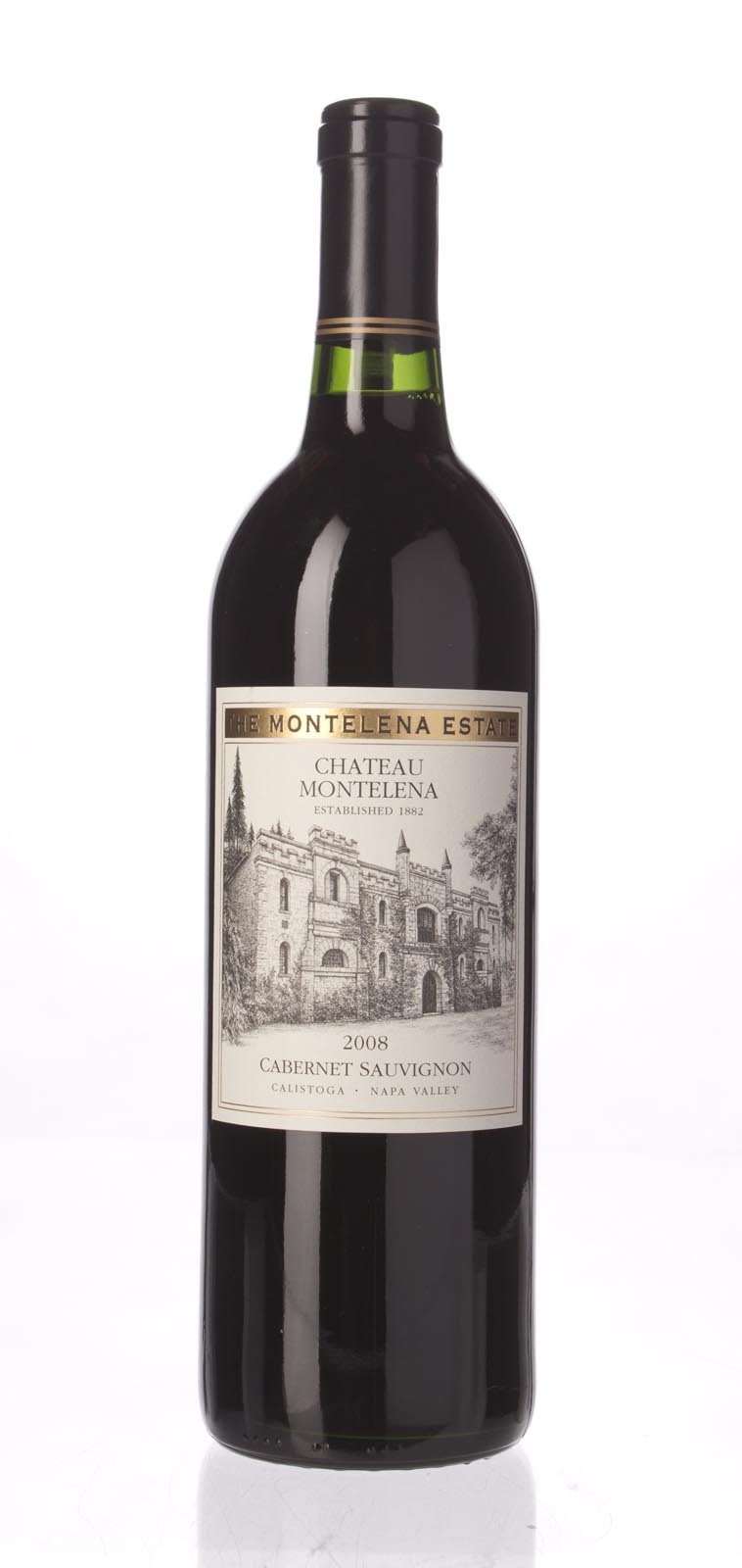 Chateau Montelena Cabernet Sauvignon Montelena Estate 2008, 750mL (WA92, ST92+) from The BPW - Merchants of rare and fine wines.