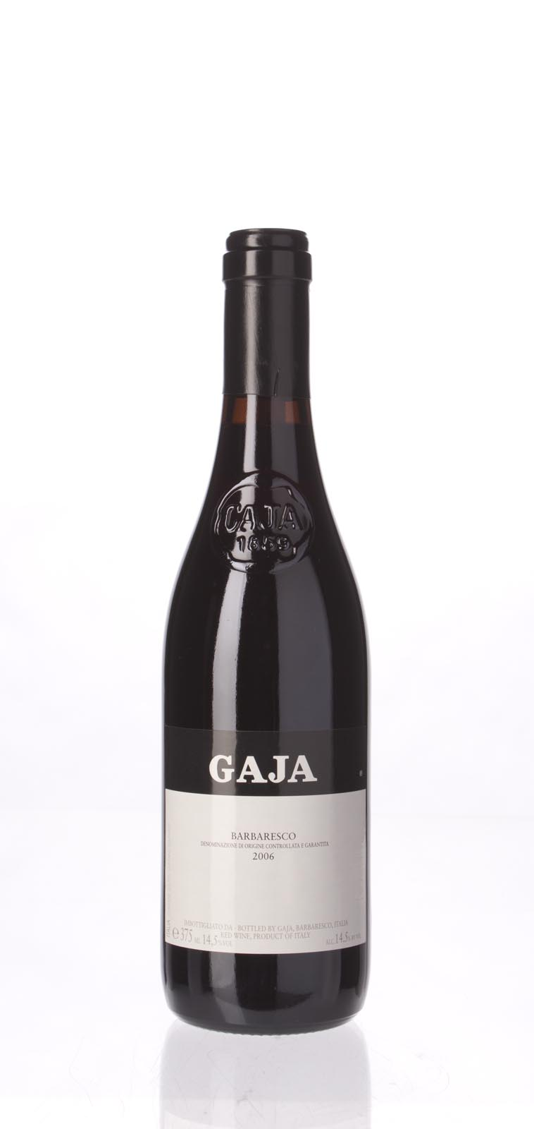 Gaja Barbaresco 2006, 375mL (WA93, ST90+, WS91) from The BPW - Merchants of rare and fine wines.
