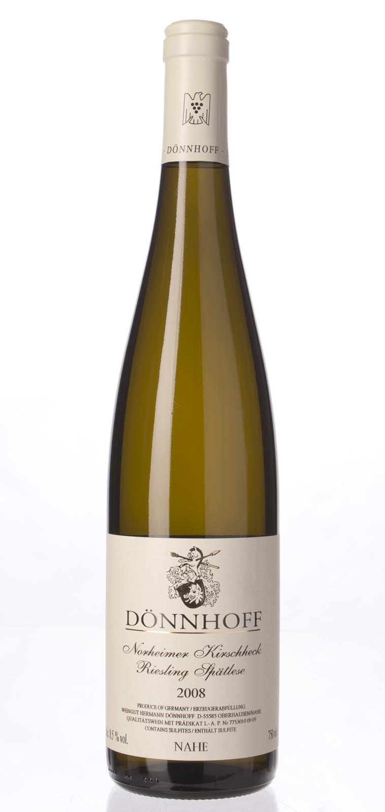 Hermann Donnhoff Norheimer Kirschheck Riesling Spatlese 2008, 750mL () from The BPW - Merchants of rare and fine wines.