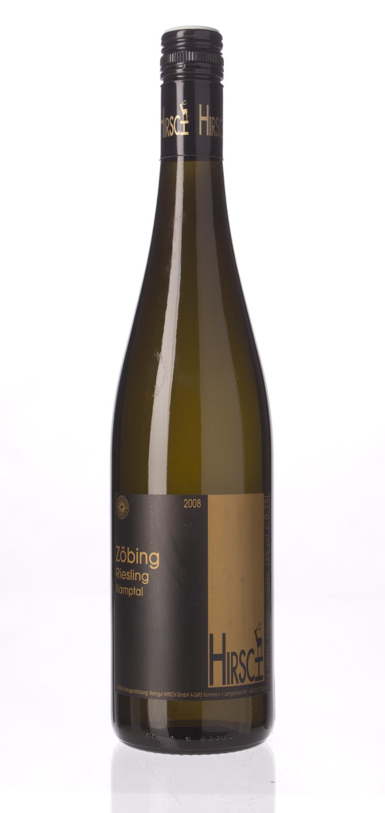 Hirsch Riesling Zobinger Heiligenstein 2008, 750mL () from The BPW - Merchants of rare and fine wines.