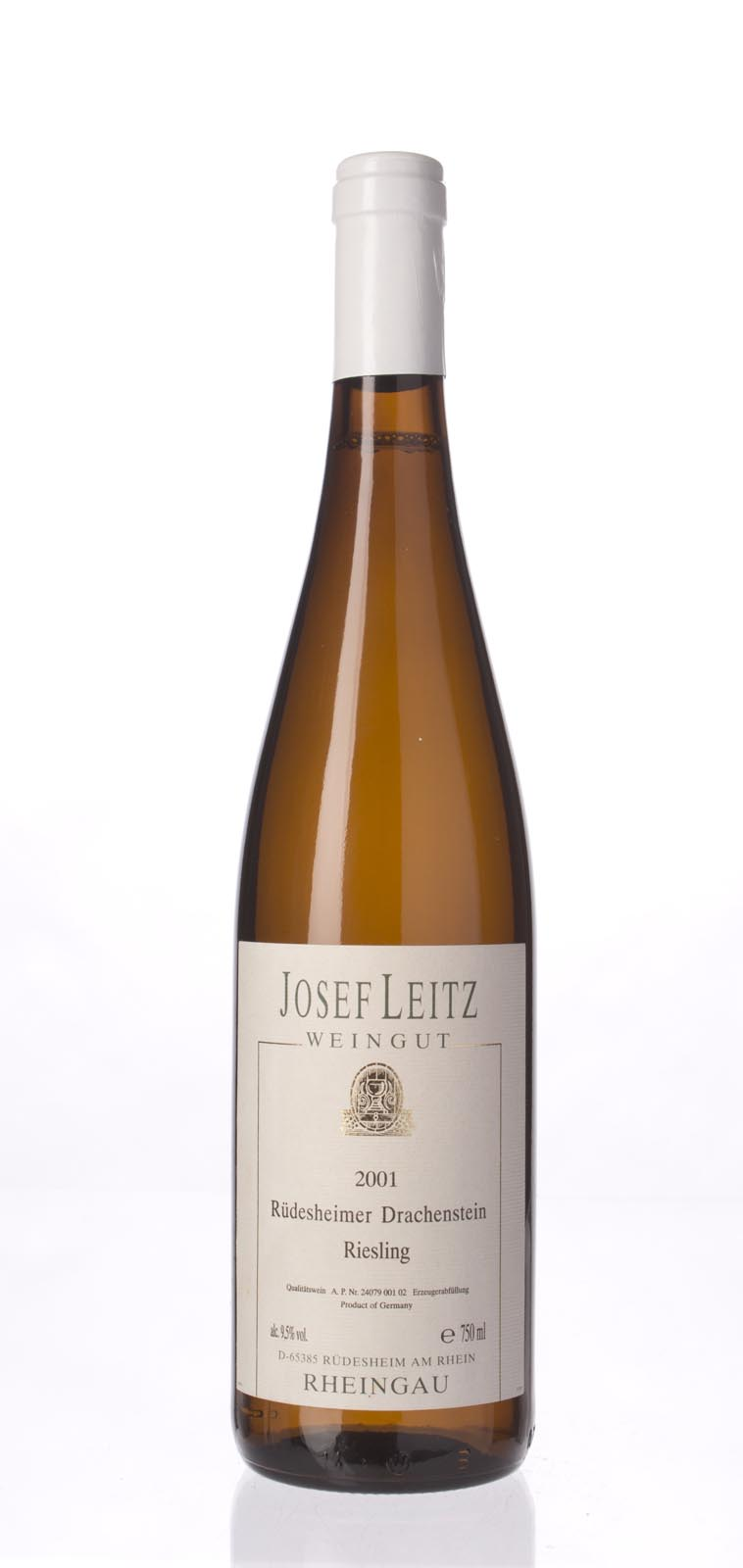 Josef Leitz Rudesheimer Drachenstein 2001, 750mL (ST**) from The BPW - Merchants of rare and fine wines.