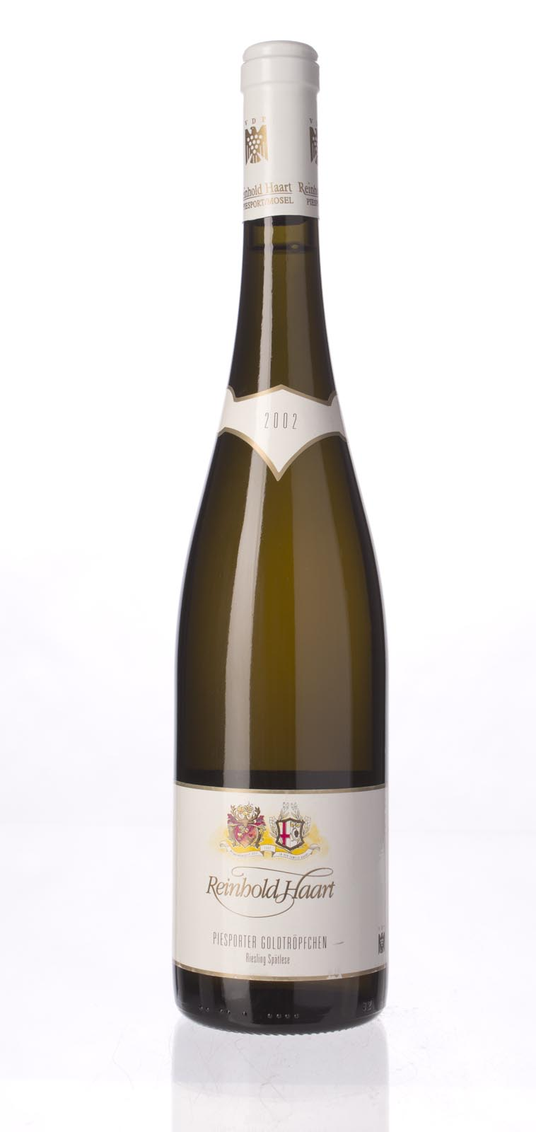 Reinhold Haart Piesporter Goldtropfchen Riesling Spatlese 2002,  (WS91) from The BPW - Merchants of rare and fine wines.