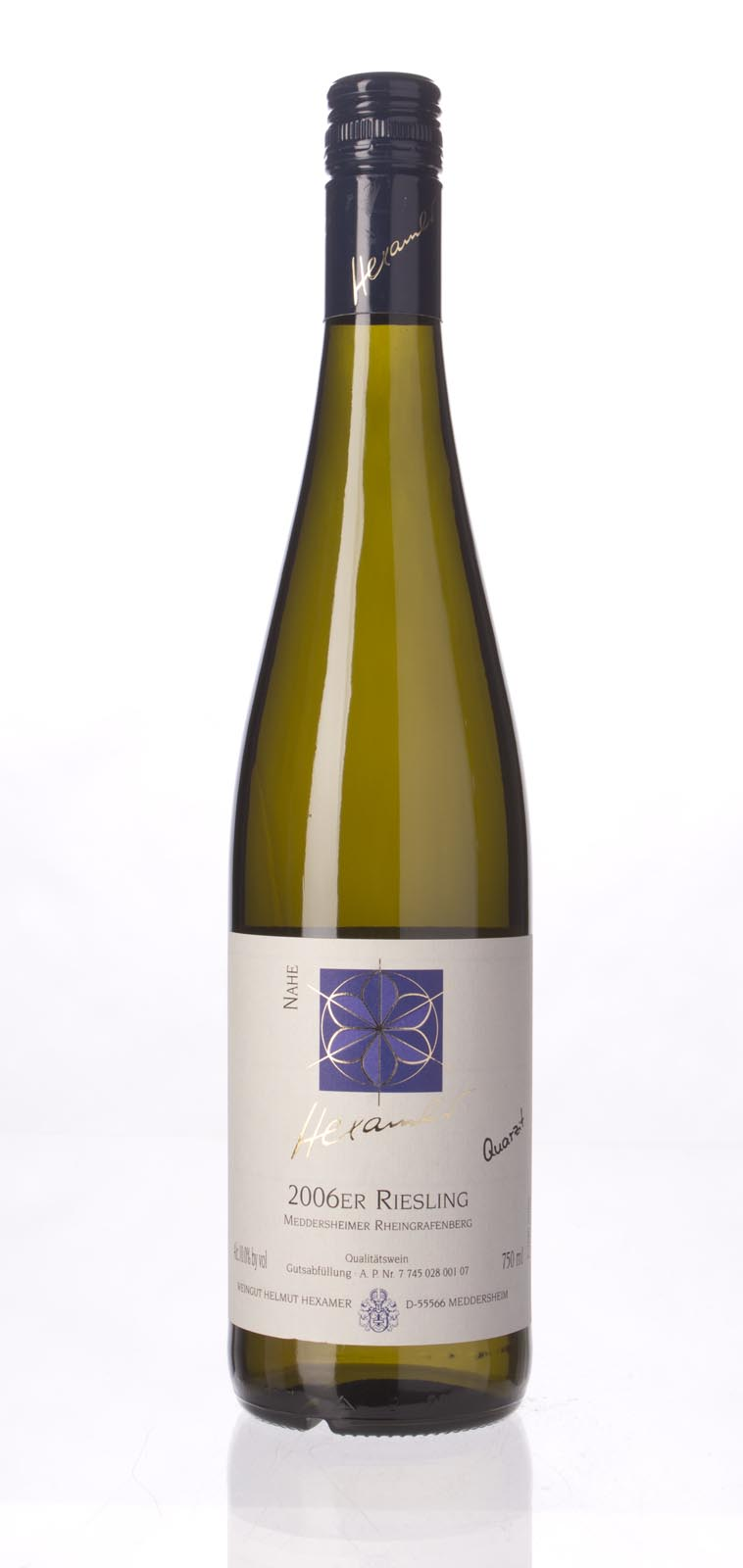 Weingut Helmut Hexamer Meddersheimer Rheingrafenberg Riesling Quarzit 2006,  () from The BPW - Merchants of rare and fine wines.