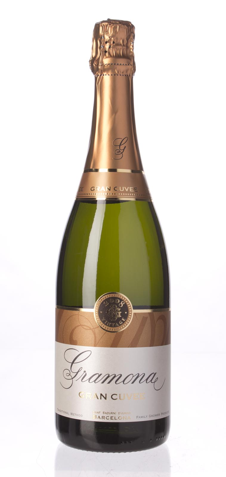 Gramona Cava Grand Cuvee 2008, 750ml (WA90) from The BPW - Merchants of rare and fine wines.