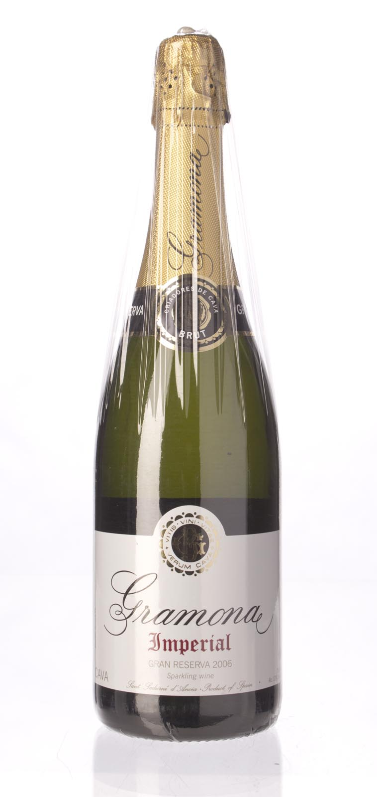 Gramona Gran Reserva Brut Imperial Cava 2006, 750mL (WA91) from The BPW - Merchants of rare and fine wines.