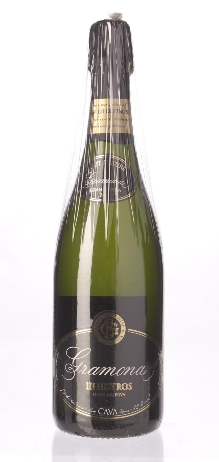 Gramona Lustros Gran Reserva Brut Nature Cava 2005, 750ml (WA95) from The BPW - Merchants of rare and fine wines.