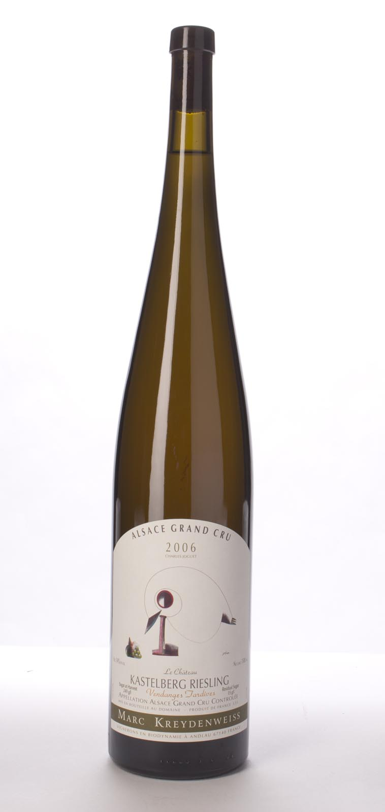 Domaine Kreydenweiss Riesling Kastelberg Vendange Tardive 2006, 1.5L () from The BPW - Merchants of rare and fine wines.