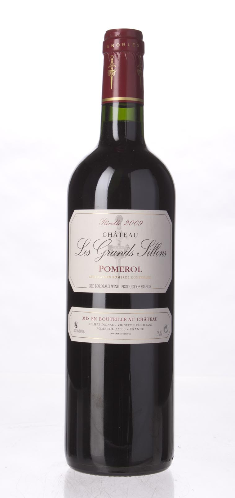 Les Grands Sillons Pomerol 2009, 750ml () from The BPW - Merchants of rare and fine wines.