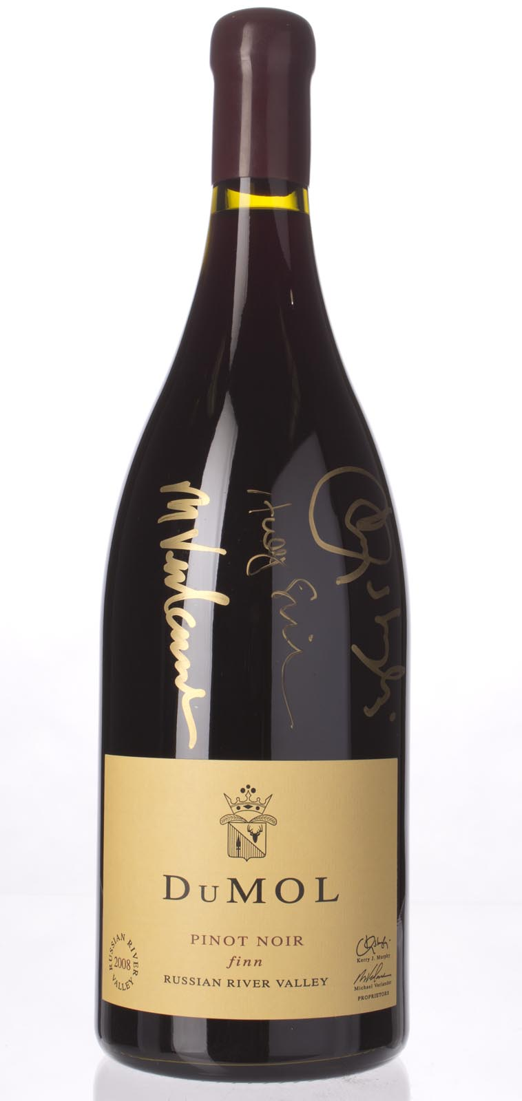 DuMol Pinot Noir Finn 2008, 3L () from The BPW - Merchants of rare and fine wines.