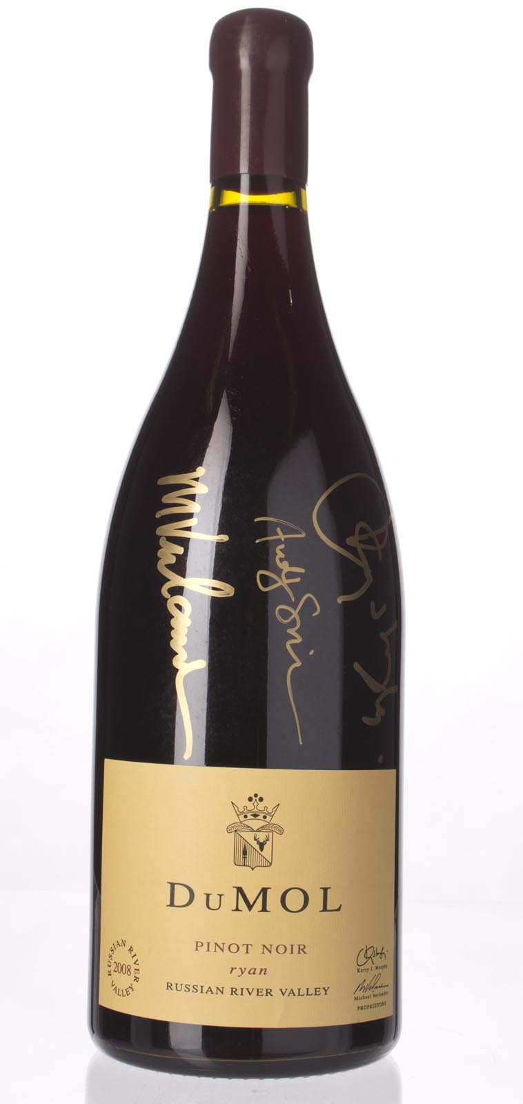 DuMol Pinot Noir Ryan 2008, 3L (ST94) from The BPW - Merchants of rare and fine wines.