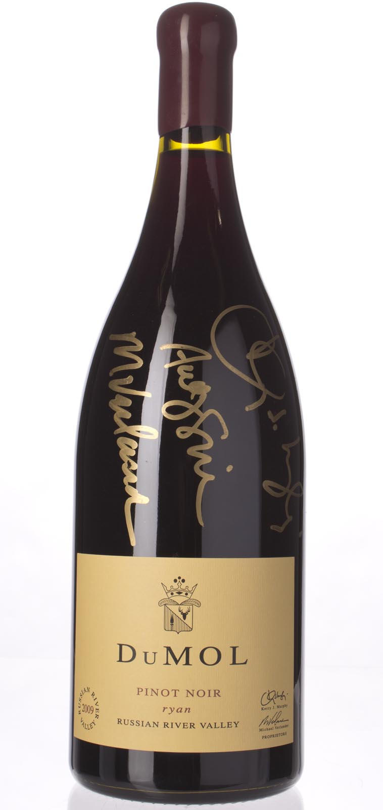 DuMol Pinot Noir Ryan 2009, 3L (WA92, WS91) from The BPW - Merchants of rare and fine wines.