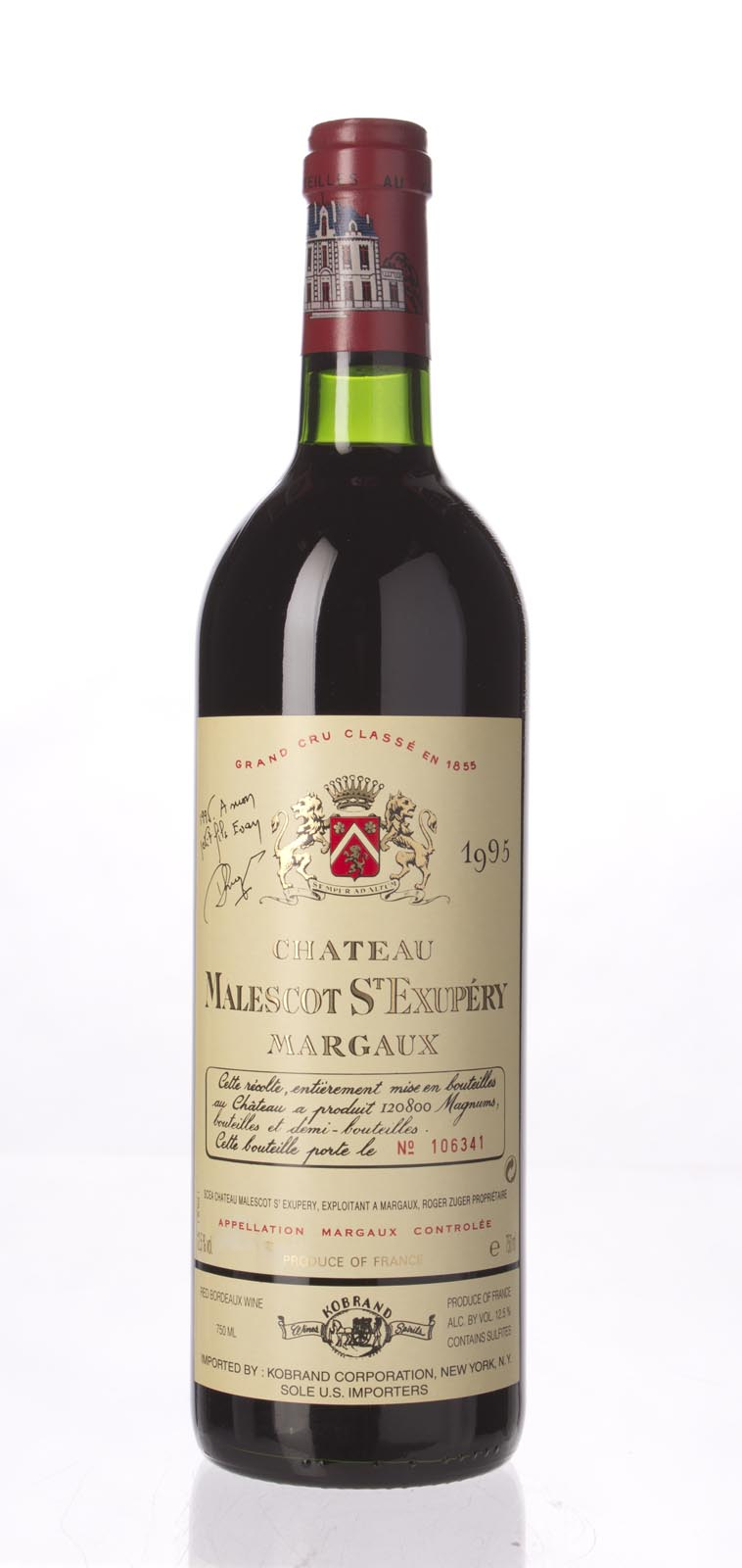 Malescot St. Exupery 1995,  (WA90, WS91) from The BPW - Merchants of rare and fine wines.