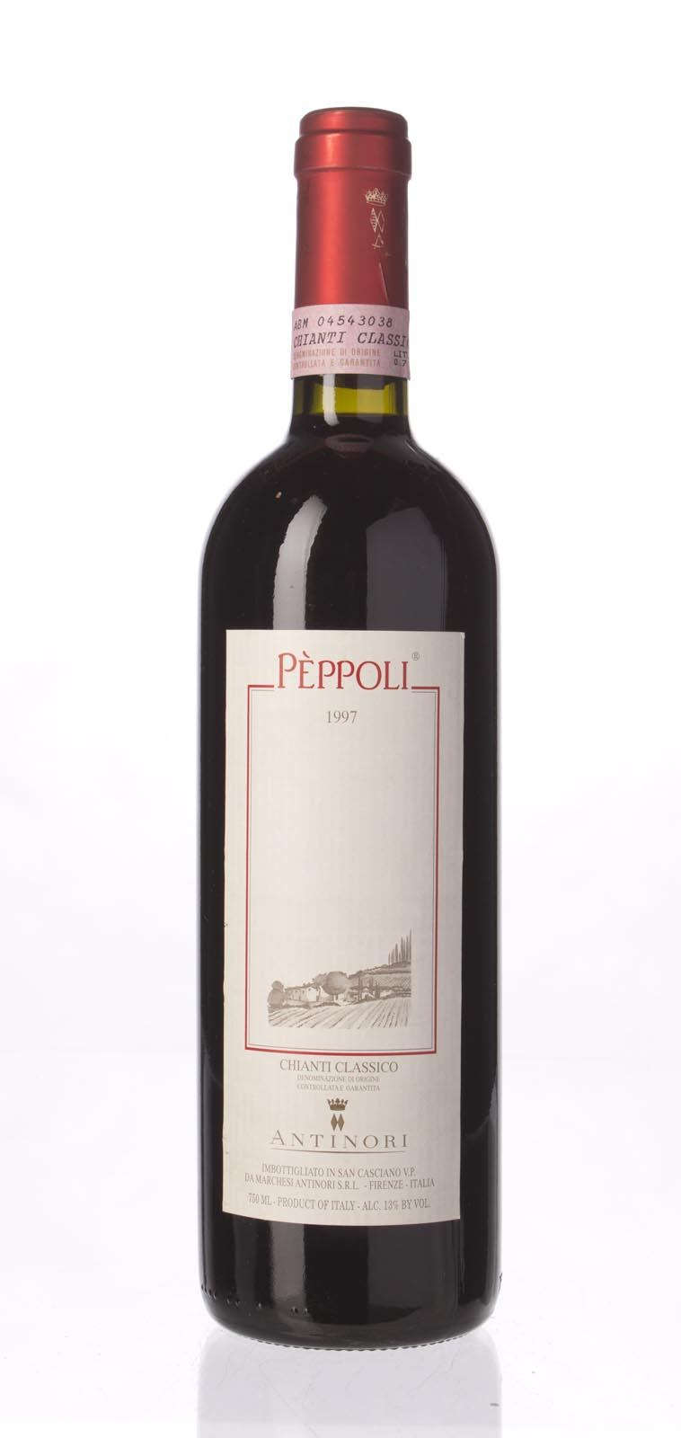 Antinori Chianti Classico Il Peppoli 1997, 750mL () from The BPW - Merchants of rare and fine wines.