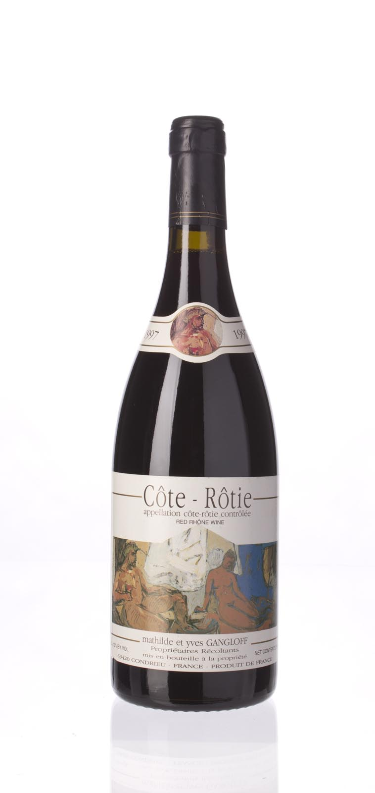 Mathilde & Yves Gangloff Cote Rotie 1997, 750mL () from The BPW - Merchants of rare and fine wines.