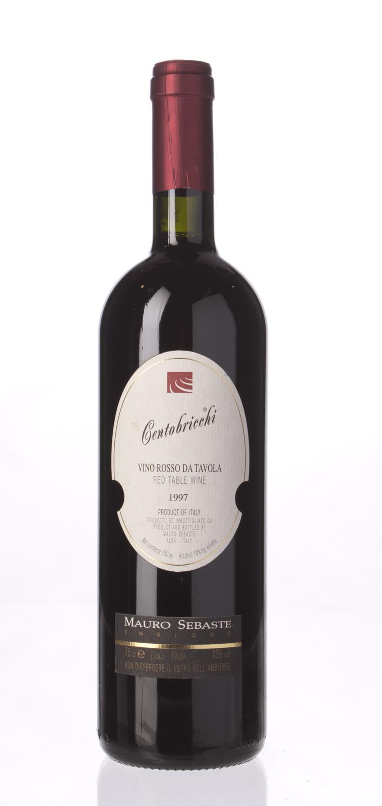 Mauro Sebaste Centobricchi IGT 1997, 750mL (WA91) from The BPW - Merchants of rare and fine wines.