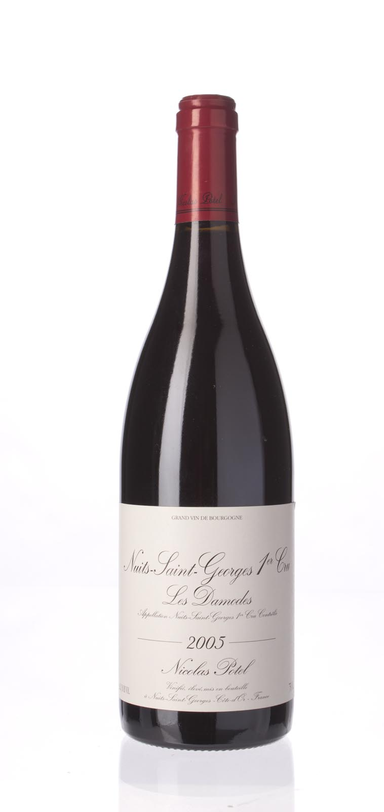 Nicolas Potel Nuits St. Georges les Damodes 2005, 750mL (WA91) from The BPW - Merchants of rare and fine wines.