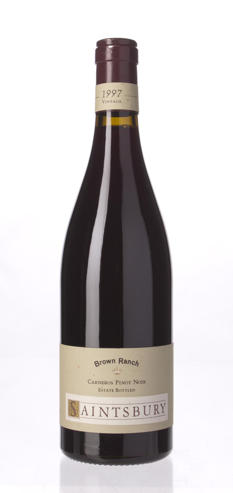 Saintsbury Pinot Noir Brown Ranch 1997, 750mL (WS92) from The BPW - Merchants of rare and fine wines.